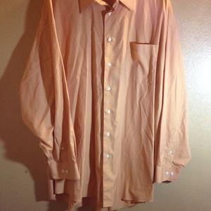 Pronto Uomo Mens dress shirt 20 34/35 NWOT